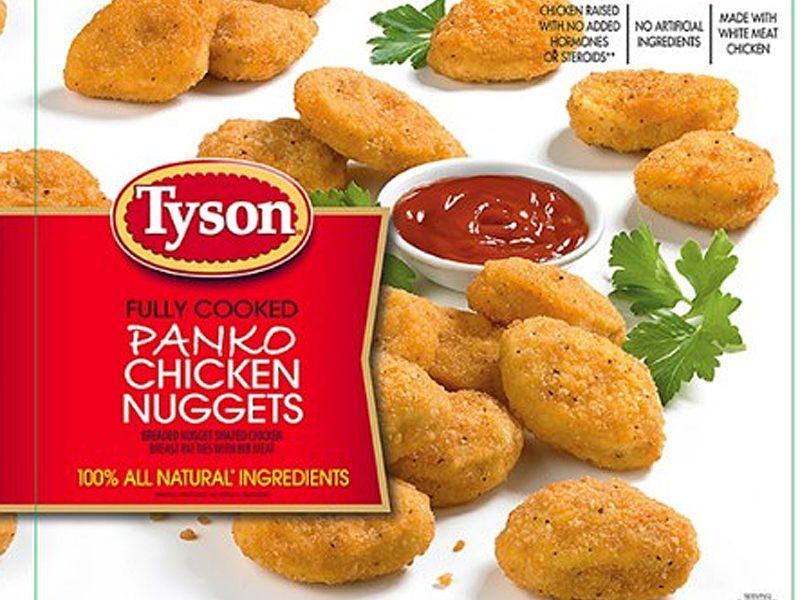 Tyson Recalling Chicken Nuggets